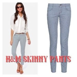 H&M skinny jeans size 2